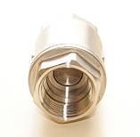 Клапан обратный нержавеющий резьбовой пружинный AISI304 Ду10 Ру16, фото 2