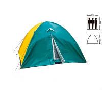 Палатка 3-х местная с тентом SY-029 (р-р 2,0*2,0*1,35м, нейлон)