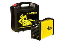 Сварочный аппарат инверторного типа Кентавр СВ-200СК (Кентавр, 3,8 кг, 4,8 кВт, 220V, 60%, 20-200 А, Сварочный аппарат инверторного типа, 1,6-4,0 мм)