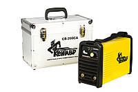 Сварочный аппарат инверторного типа Кентавр СВ-200СА (Кентавр, 3,8 кг, 4,8 кВт, 220V, 60%, 20-200 А, Сварочный аппарат инверторного типа, 1,6-4,0 мм)