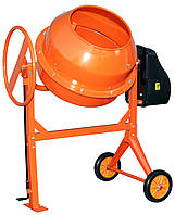 Бетономешалка Кентавр БМ-160М оранжевая (Кентавр, 800 Вт, 160 литров, Бетономешалка, Ременной)