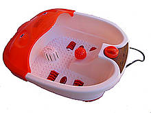 Ванночки для ніг з підігрівом води та гідромасажем.
