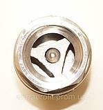 Клапан обратный нержавеющий резьбовой пружинный AISI304 Ду20 Ру16, фото 6