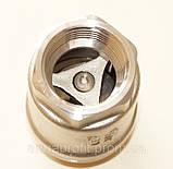 Клапан обратный нержавеющий резьбовой пружинный AISI304 Ду20 Ру16, фото 7