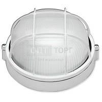 Светильник влагозащищенный Lemanso Свет-к LEMANSO круг метал. 100W с реш. BL-1102 белый