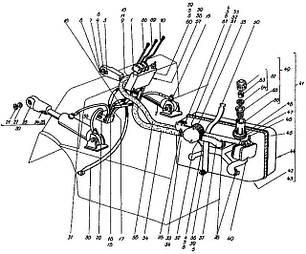 38 Система гидравлическая