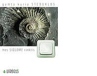 Фурнитура Выключатель (1-но клавишный, Белый)  Alfa (LIREGUS)
