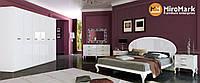Спальня Империя 3 дв. глянец белый