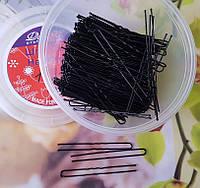 Шпильки для волос черные 7 см, уп. 260шт