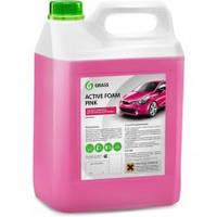 Grass 113121 Активная пена «Active Foam Pink» цветная пена, 6л.