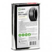 Grass 125100 Полироль для шин, чернитель резины «Black Brilliance», 1л