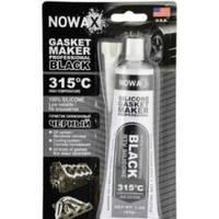Nowax NX35309 Герметик прокладок силиконовый черный 85мл