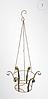 Кованая подвесная подставка для вазонов 7