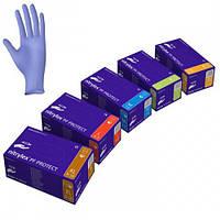 Перчатки нитриловые NITRYLEX PF PROTECT 200шт