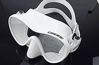 Маска для плавания Cressi Sub F1, белая Кресси Саб Ф1 подводной охоты дайвинга снорклинга