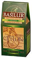 Чай зеленый Зеленый Basilur коллекция  Чайный остров Цейлон картон 100г