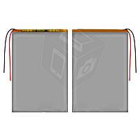 Батарея (АКБ, аккумулятор) для китайских планшетов/телефонов, универсальный, 3500 mAh, 90х130х3,0 мм