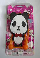 """Яркий универсальный чехол бампер с шарами и большим рисунком Панда для 4""""-5,5"""