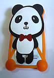 """Яркий универсальный чехол бампер с шарами и большим рисунком Панда для 4""""-5,5, фото 2"""