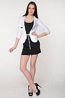 Пиджак жатый рукав (белый, розовый, бежевый, серый) LP-182***, фото 1
