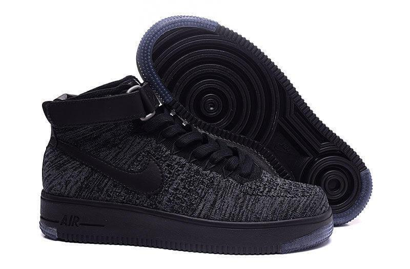 Мужские кроссовки Nike Air Force 1 Ultra Flyknit Black