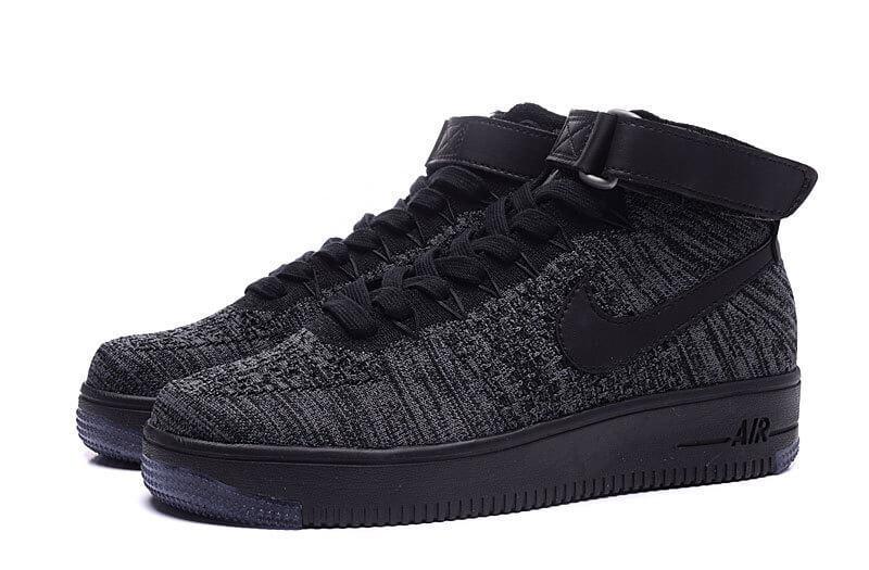 85f54731 Мужские кроссовки Nike Air Force 1 Ultra Flyknit Black купить в ...