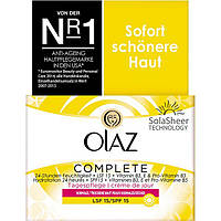 Olaz Complete Tagescreme LSF 15 - Дневной увлажняющий крем для лица, 50 мл