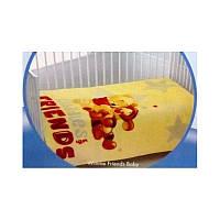 Плед для младенцев Tac Disney - Winnie Friends Baby 110*140