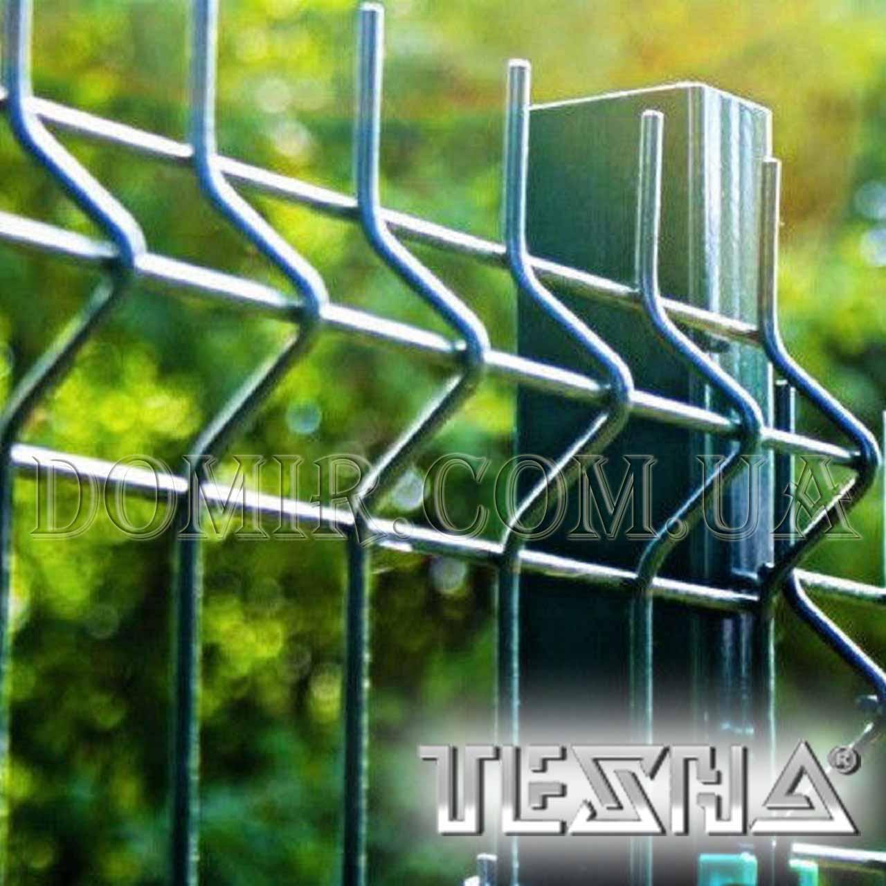 Секційний паркан з зварної сітки ТЕХНА - ЕКО