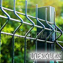 Забор секционный из сварной сетки ТЕХНА - ЭКО
