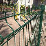 Секційний паркан з зварної сітки ТЕХНА - ЕКО, фото 2