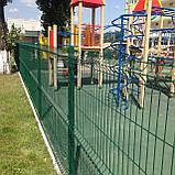Секційний паркан з зварної сітки ТЕХНА - ЕКО, фото 3