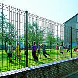 Секційний паркан з зварної сітки ТЕХНА - ЕКО, фото 4