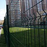 Секційний паркан з зварної сітки ТЕХНА - ЕКО, фото 5