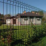 Секційний паркан з зварної сітки ТЕХНА - ЕКО, фото 6