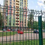 Секційний паркан з зварної сітки ТЕХНА - ЕКО, фото 7