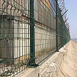 Секційний паркан з зварної сітки ТЕХНА - ЕКО, фото 8