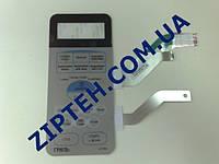 Пленочная клавиатура для микроволновки (СВЧ-печи) Samsung G2739NR DE34-00115E цвет серебристый