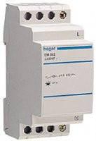 Реле времени для освещения лестниц с сигнализацией отключения Hager EM004