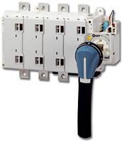 Трех или четырехполюсный выключатель-разъеденитель ручного управления Sidermat 250А - 1800 А
