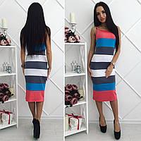 """Стильное молодежное платье мини """" Полоски """" Dress Code"""