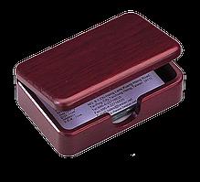 Контейнер для визиток деревянный Bestar красное дерево 1315WDM