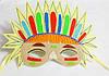 Карнавальная маска Индейца .  Детские сюжетно ролевые игры.