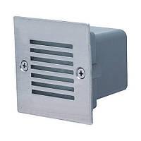 Светодиодный лестничный светильник BRONZ белый/синий 0,9W