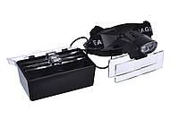 Лупа бинокулярная Magnifier 9892C 6x