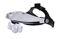 Лупа бинокулярная Magnifier 81001-H 6x, фото 1