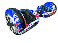 """Гироскутер Smart Balance Wheel Simple 6,5"""" Флаг + Сумка +Спиннер в Подарок! (Гарантия 12 месяцев)"""