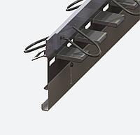 Профиль деформационного шва раздвижной ПДШ Альфа-130-170