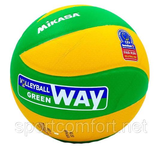 Волейбольный мяч Mikasa PU MVA 200 Cev (клееный 3-слойный полиуретан)
