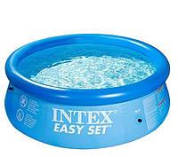 Надувной бассейн Intex 28142. Семейный Easy Set - 396 х 84 см